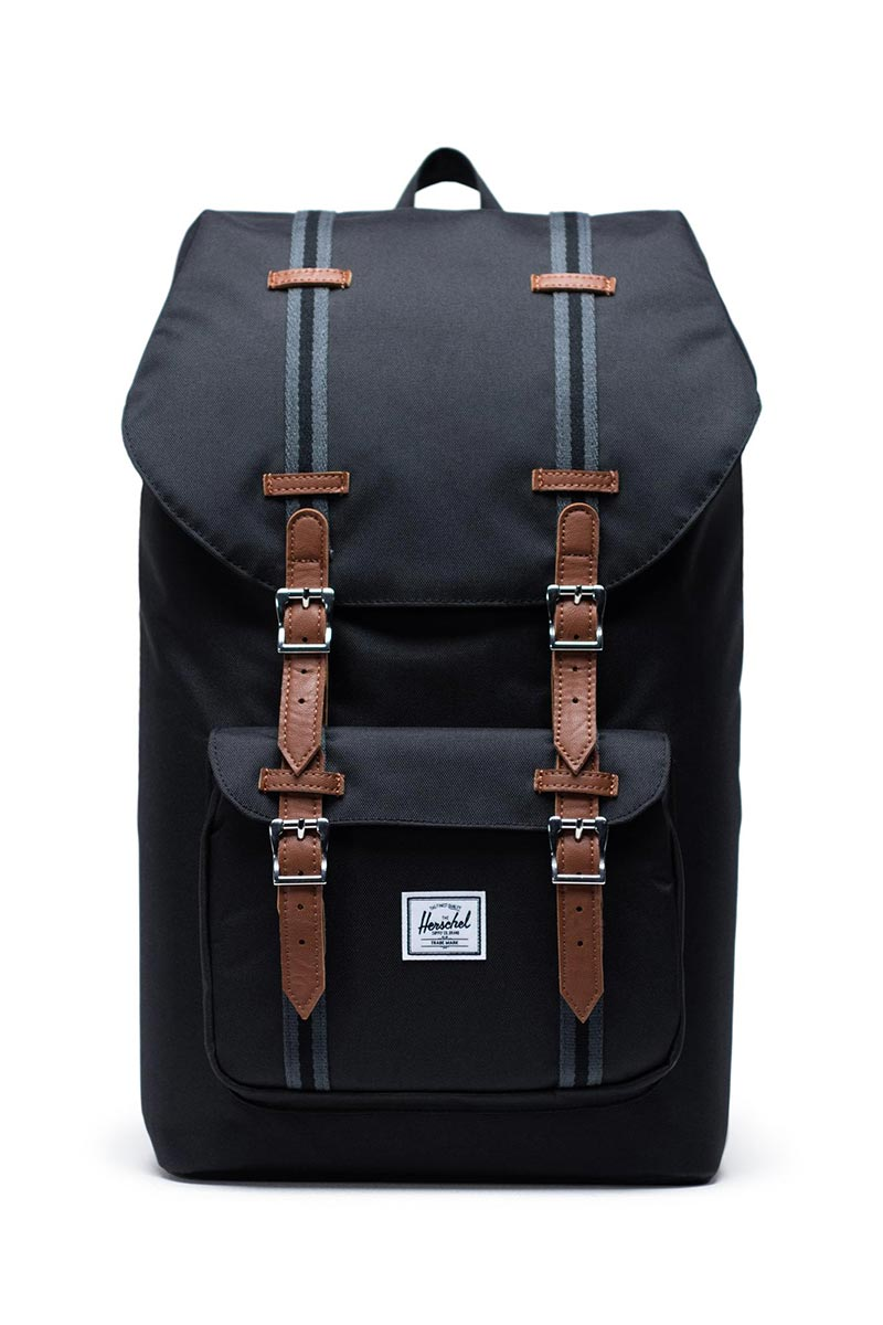 Herschel Supply Co. Little America backpack black/black/tan - 10014-03008-os