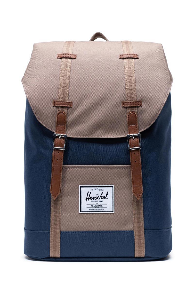 Herschel Supply Co. Retreat backpack navy/pine bark/tan
