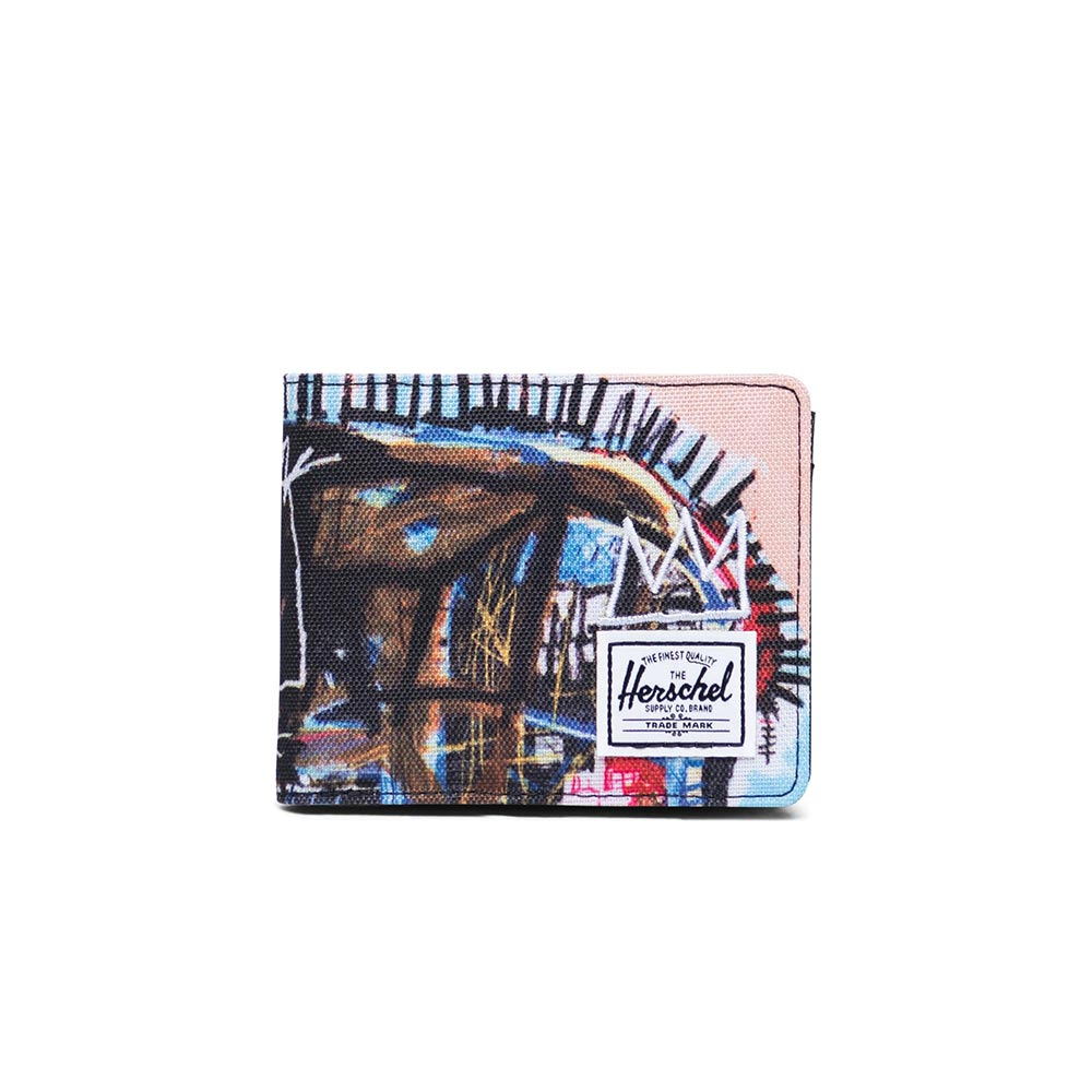 Herschel Supply Co. Roy coin wallet RFID Basquiat skull - 10403-03032-os
