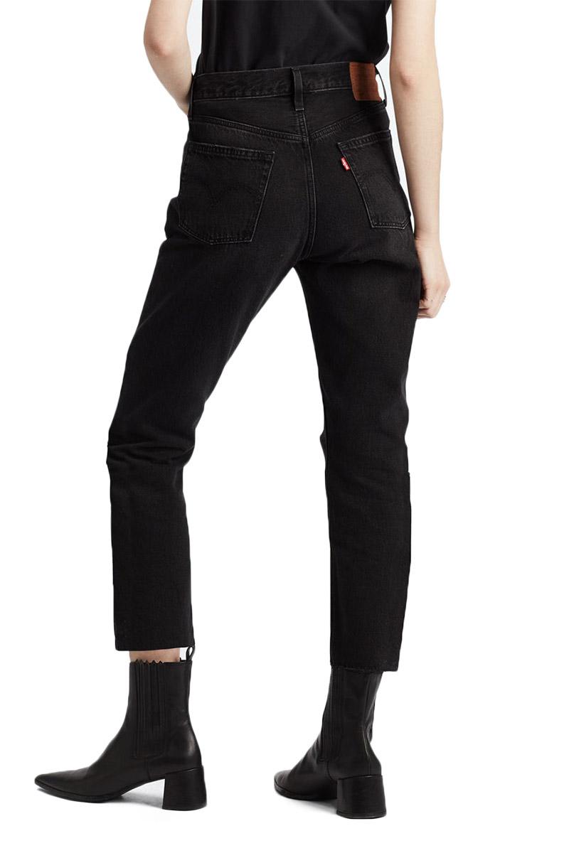 Levi's 501® crop jeans black heart