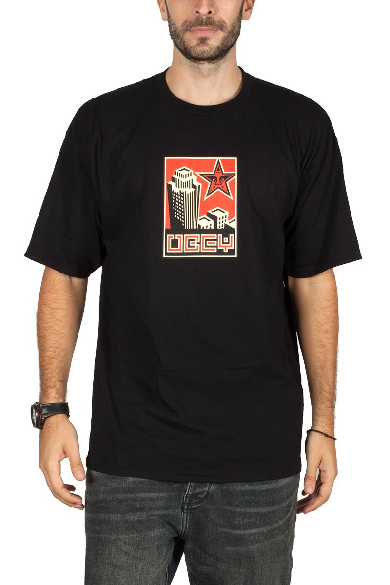 Obey t-shirt Building 30 years - 163082255