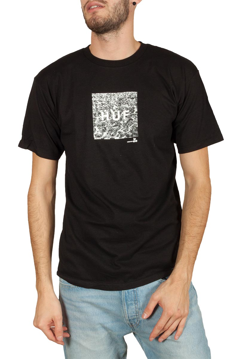 Huf Woodstock box logo t-shirt - ts00981