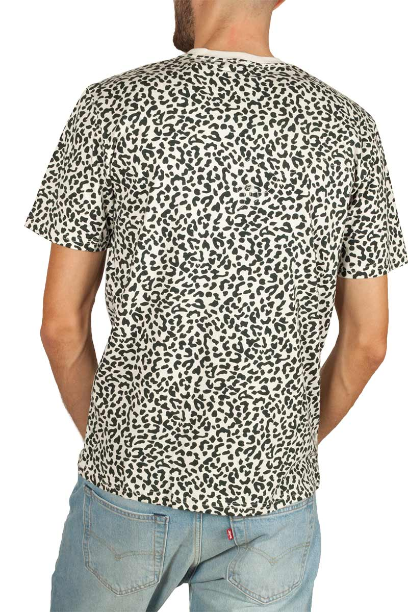 Minimum Aarhus animal print t-shirt