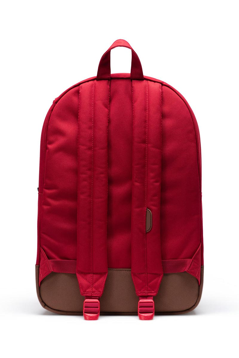 Herschel Supply Co. Heritage backpack red/saddle brown