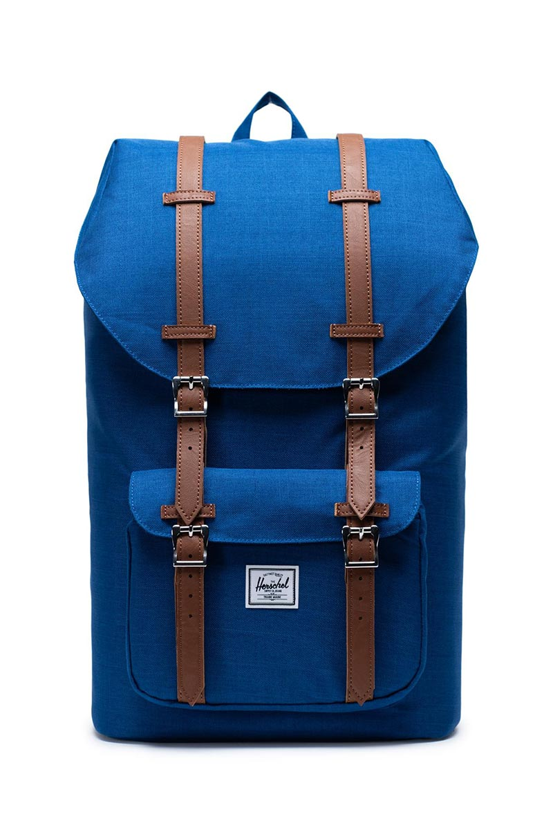 Herschel Supply Co. Little America backpack monaco blue crosshatch - 10014-03262-os