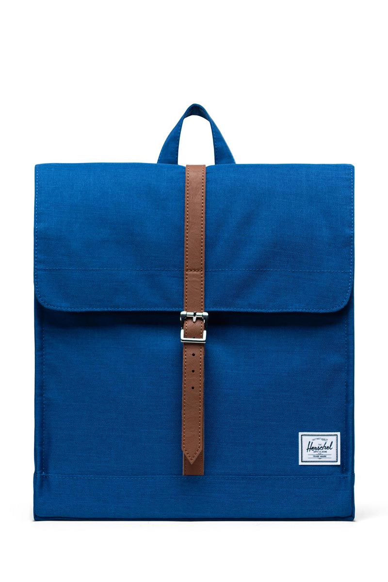 Herschel Supply Co. City mid volume backpack monaco blue crosshatch - 10486-03262-os