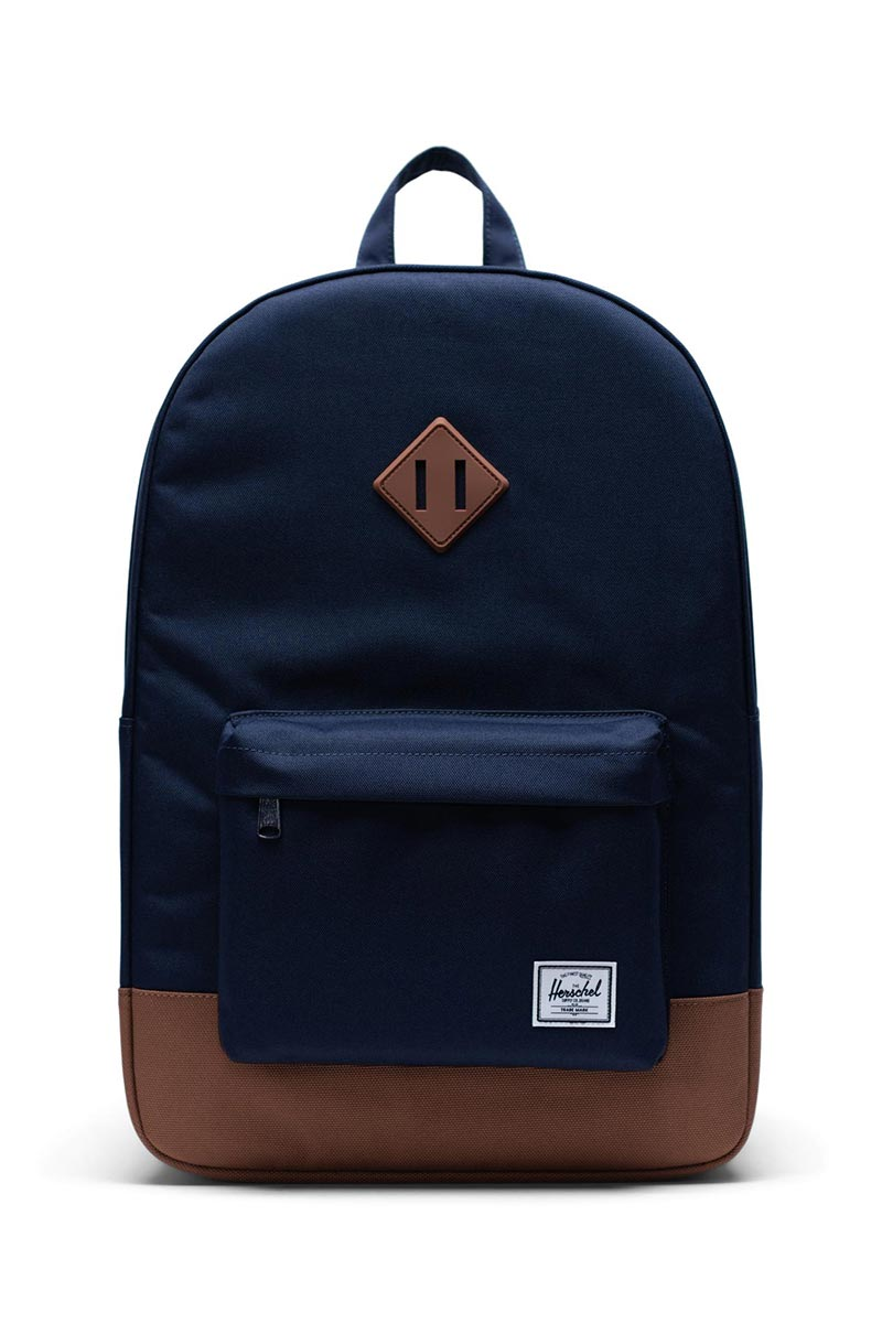 Herschel Supply Co. Heritage backpack peacoat/saddle brown - 10007-03266-os