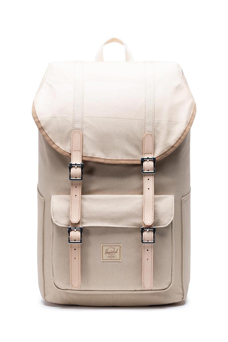 HERSCHEL SUPPLY CO Little America Premium Cotton 25L Rucksack Blau