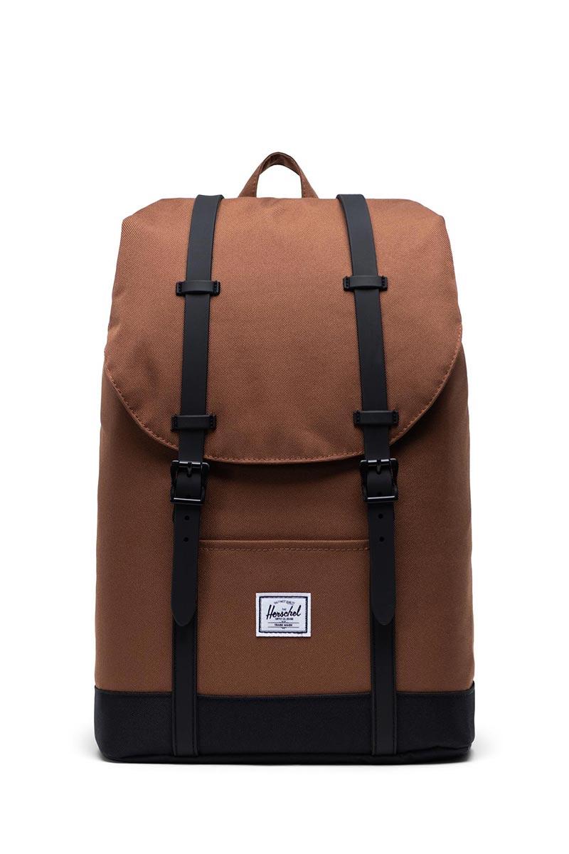 Herschel Supply Co. Retreat mid volume backpack saddle brown/black - 10329-03273-os
