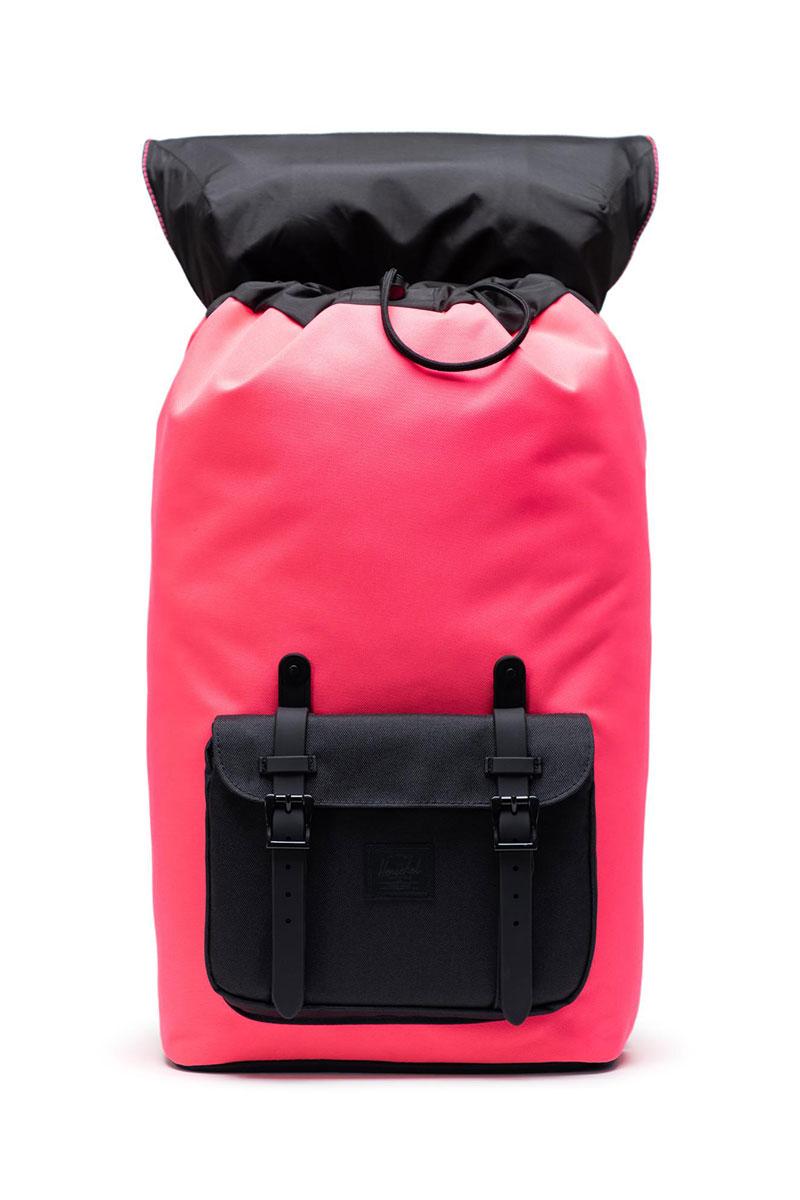Herschel Supply Co. Little America backpack neon pink/black
