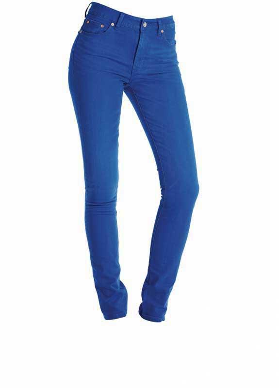 Wesc γυναικείο τζιν παντελόνι Lizzy σε φωτεινό μπλε - 141we-00310