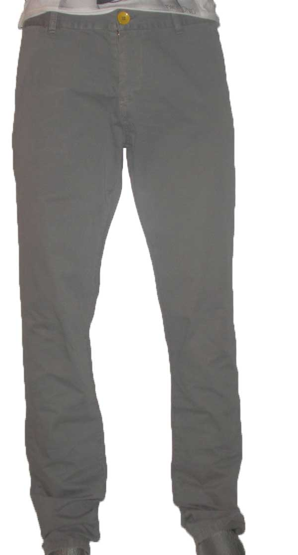Old Glory Gr ανδρικό παντελόνι Chinos gray