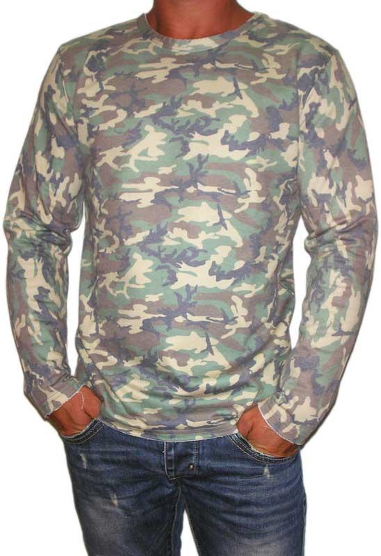 Bigbong ανδρική φούτερ μπλούζα παραλλαγής - 20-21-cam