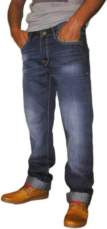 Tiffosi Brody ανδρικό regular fit jean με μέτριο ξέβαμα ανδρικα   παντελόνια