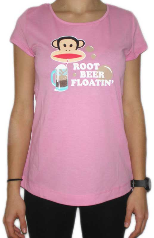 Paul Frank Julius root beer γυναικείο t-shirt ροζ