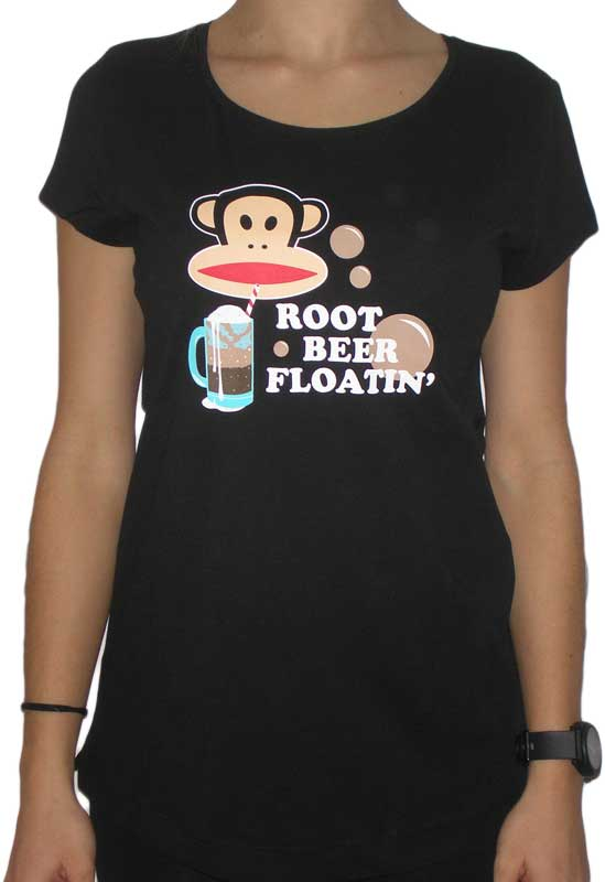 Paul Frank Julius root beer γυναικείο t-shirt μαύρο