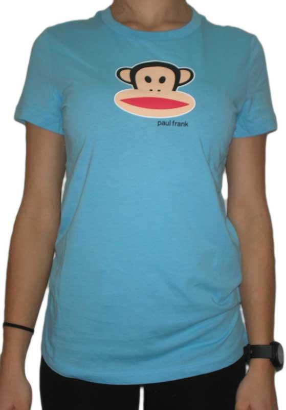 Paul Frank Julius head γυναικείο t-shirt γαλάζιο