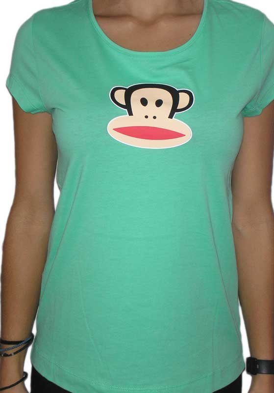 Paul Frank Julius γυναικείο t-shirt πράσινο - 61000-gn