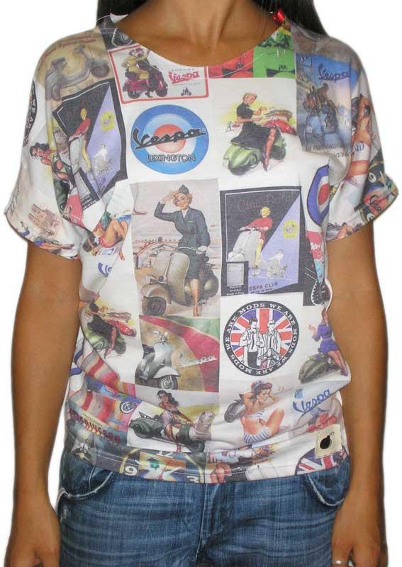 Bigbong γυναικεία μπλούζα με print