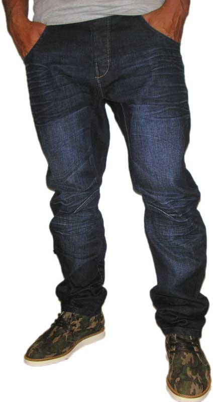 Humor Zuniga ανδρικό jean σκούρο μπλε - 8714526