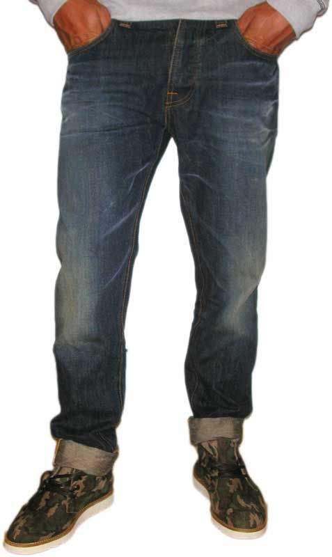 Nudie ανδρικό Steady Eddie Sea Fire jean - 111664