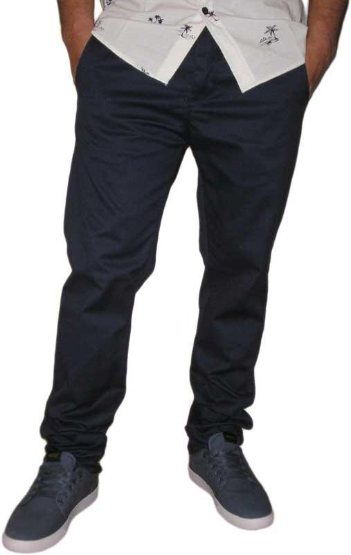 Humor Dean ανδρικό chino παντελόνι dress blues - 8215620-db