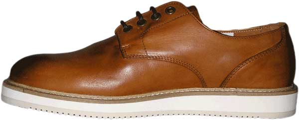 new product 46833 25f47 Wesc Blucher leather shoes caramel