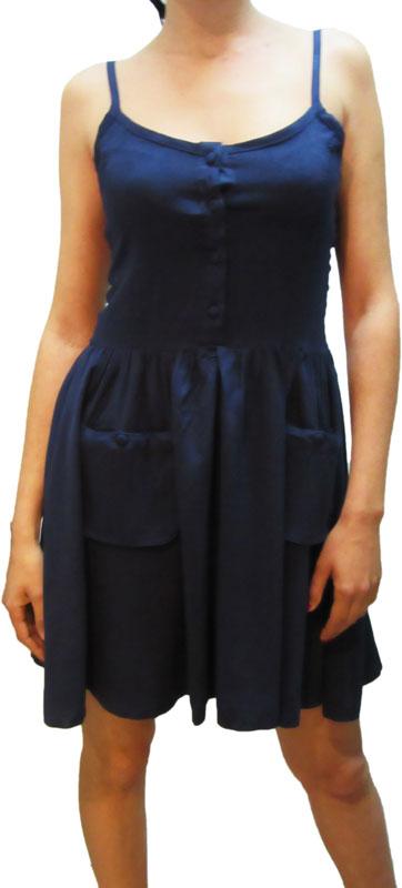 Bellfield τιραντέ φόρεμα Whitley navy - 590815