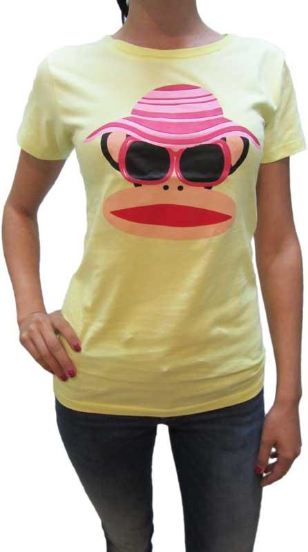 Paul Frank γυναικείο t-shirt Sunhat λεμονί
