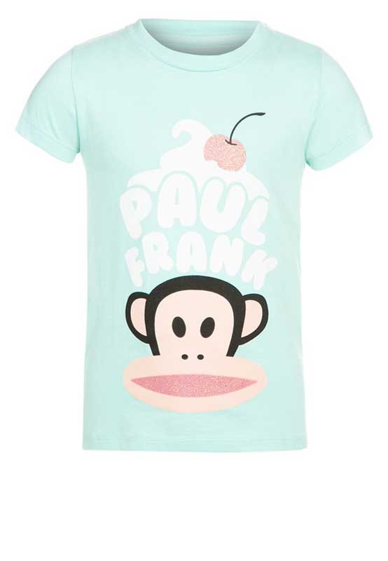 Paul Frank T-shirt crean and cherry άκουα για κορίτσι