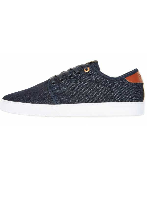 Wesc ODS01 off deck sneaker low top raw selvage denim