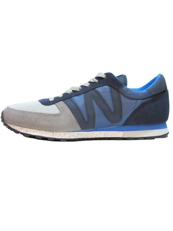 Wesc PR02 post runner low top suomi blue