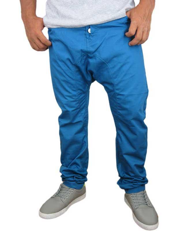 Humor Santiago παντελόνι blue jay - 8113630-bj