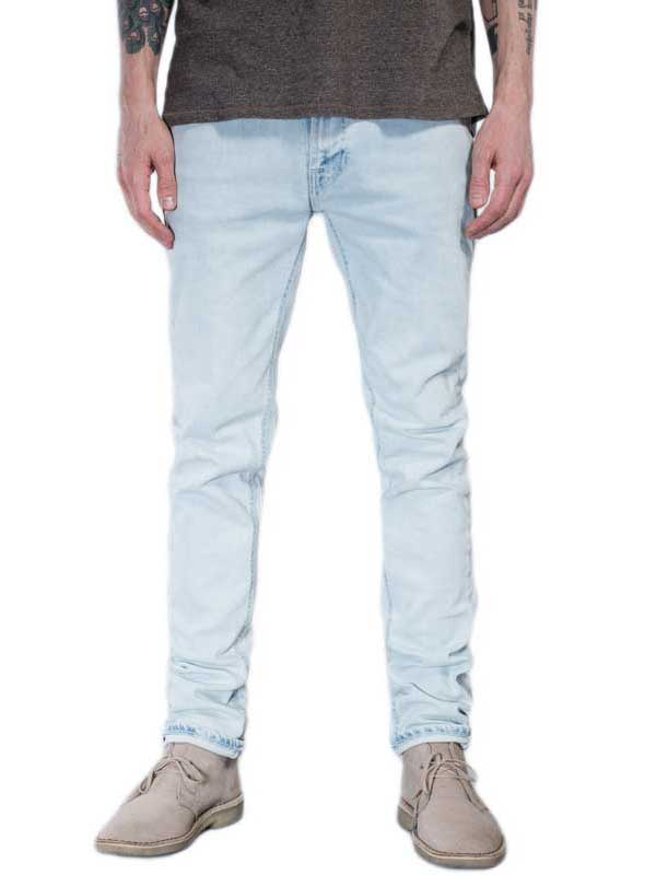 Nudie Jeans Lean Dean ecru beach slim fit ανδρικό τζιν