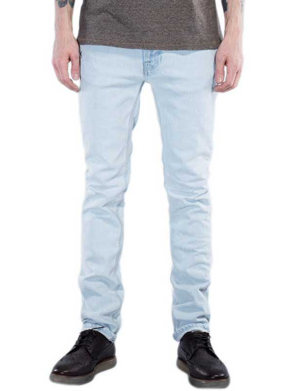 Nudie Jeans Thin Finn pale sea slim fit ανδρικό τζιν