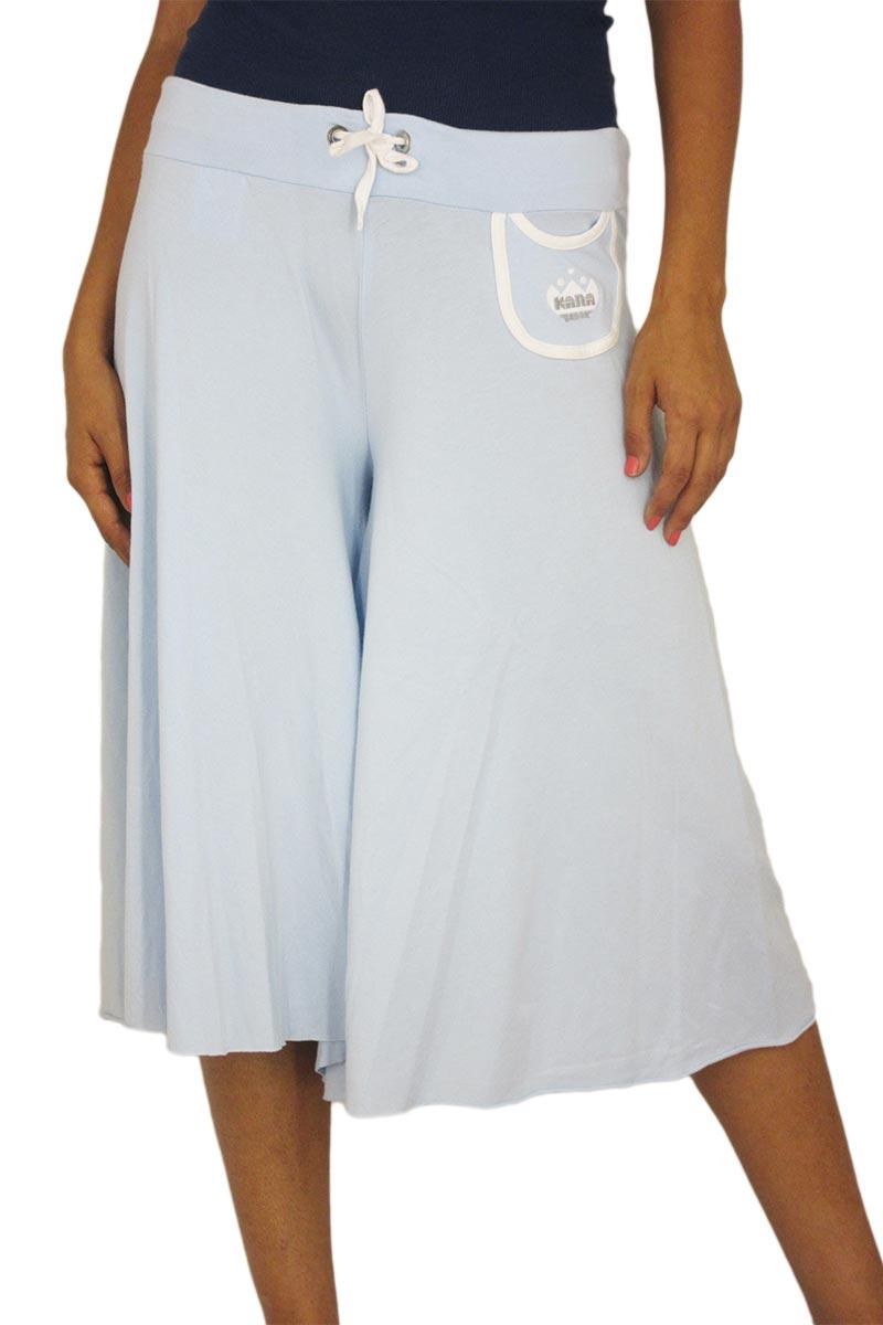 Ζιπ κιλότ Kanabeach σε γαλάζιο γυναικεια     παντελόνια