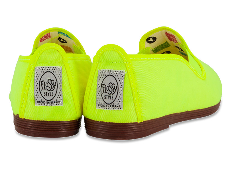 Flossy γυναικείο plimsoll Jaca neon yellow