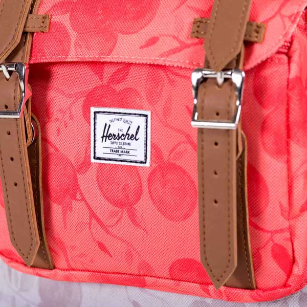 Herschel Supply Co. Little america mid volume backpack grey red Orchard 7908abb3036e4