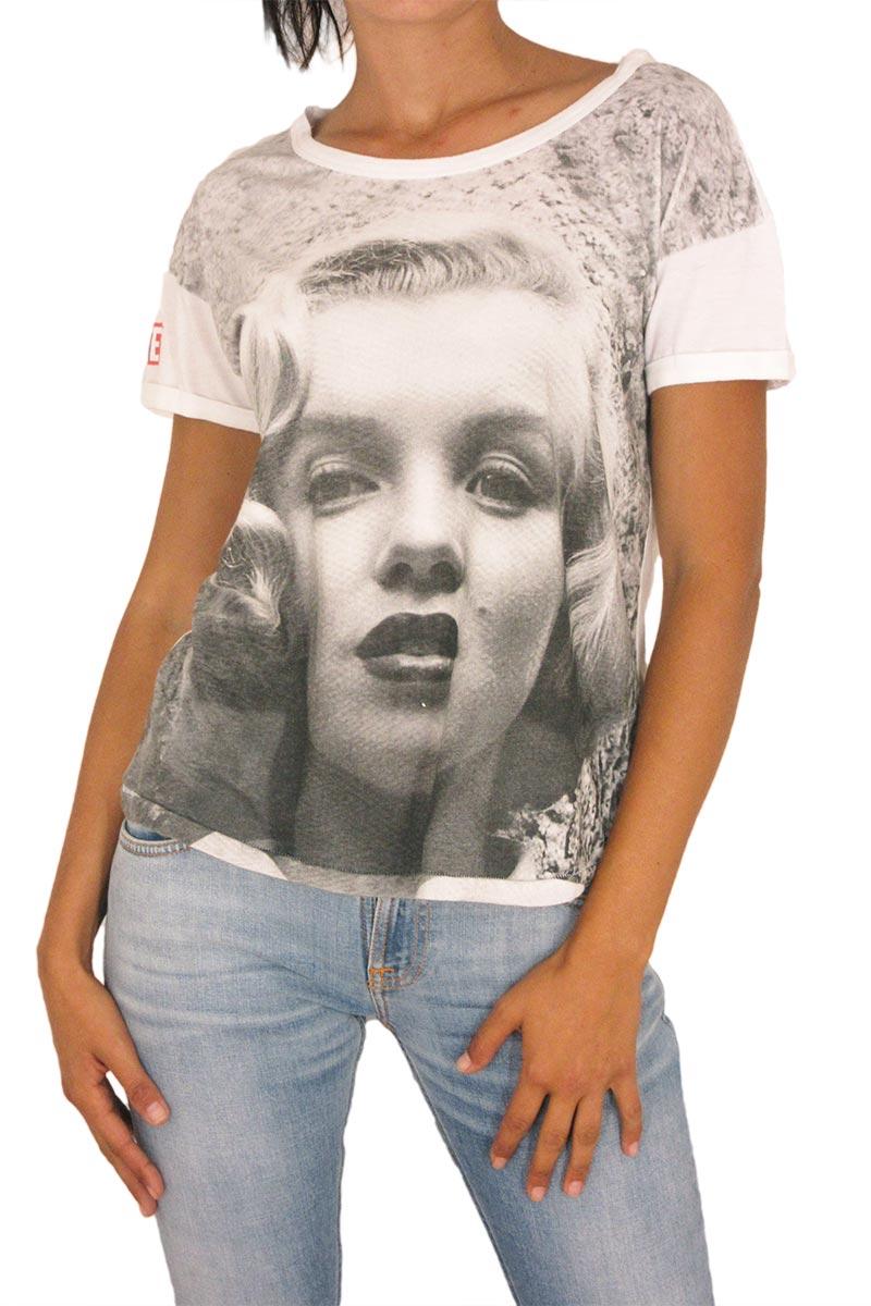 Γυναικείο t-shirt λευκό Worn by Life Blonde