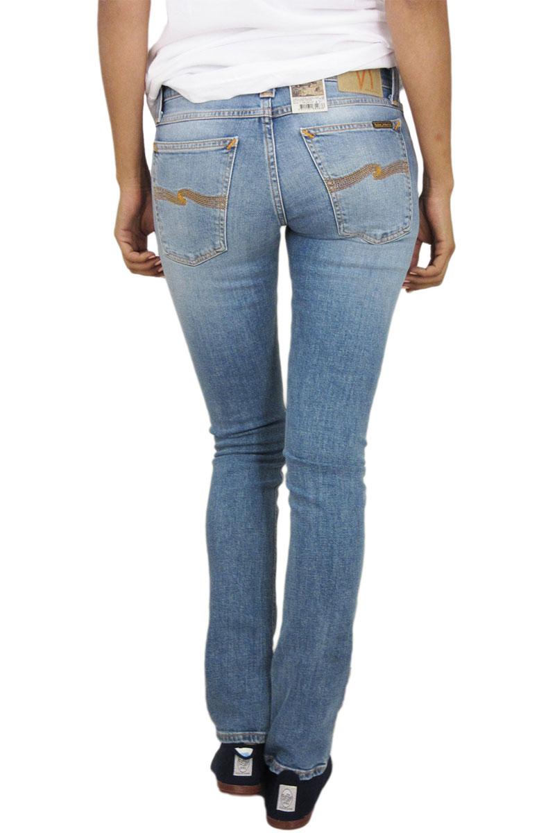 Nudie Jeans Τight long John women s jean saltwater indigo 0843121ca