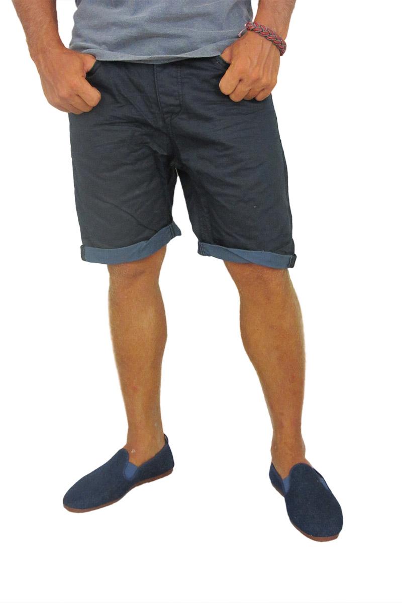 Ανδρική βερμούδα σκούρο μπλε