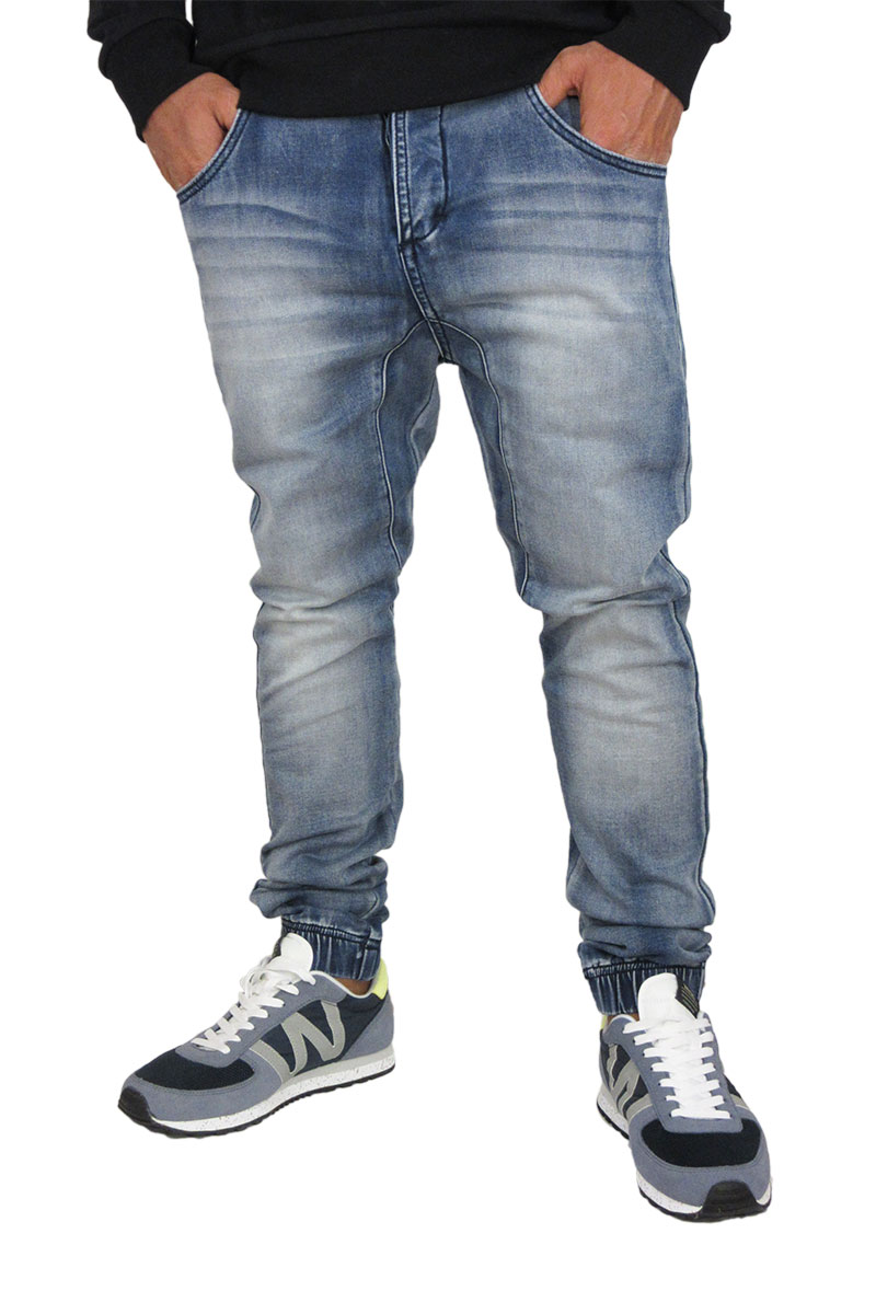 Humor ανδρικό jean Caton ξεβαμμένο μπλε ανδρικα   jeans