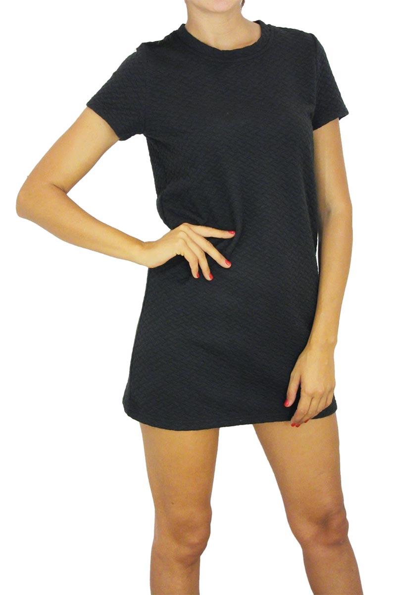 Bellfield καπιτονέ μίνι φόρεμα Evesham μαύρο