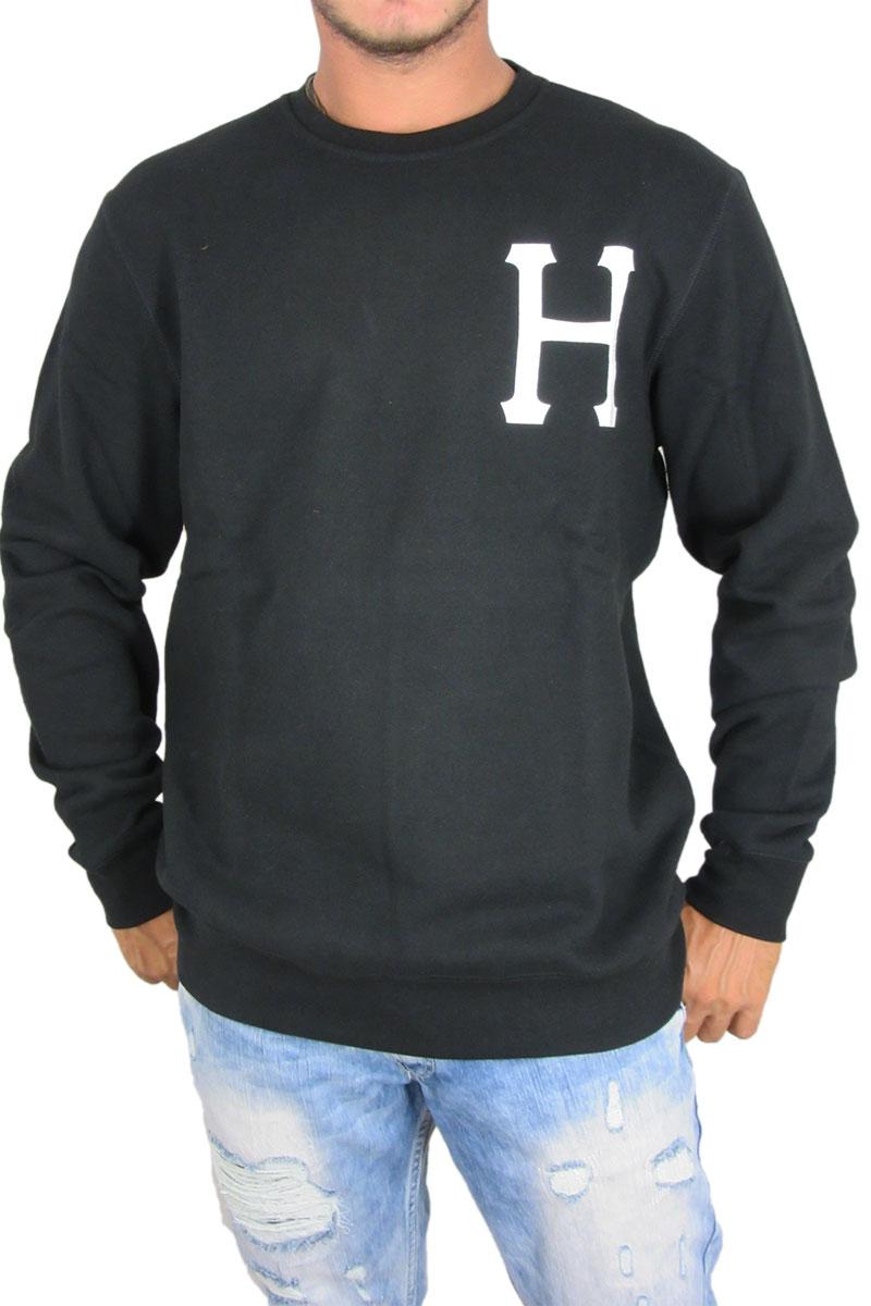 Huf ανδρική φούτερ μπλούζα PT μαύρη