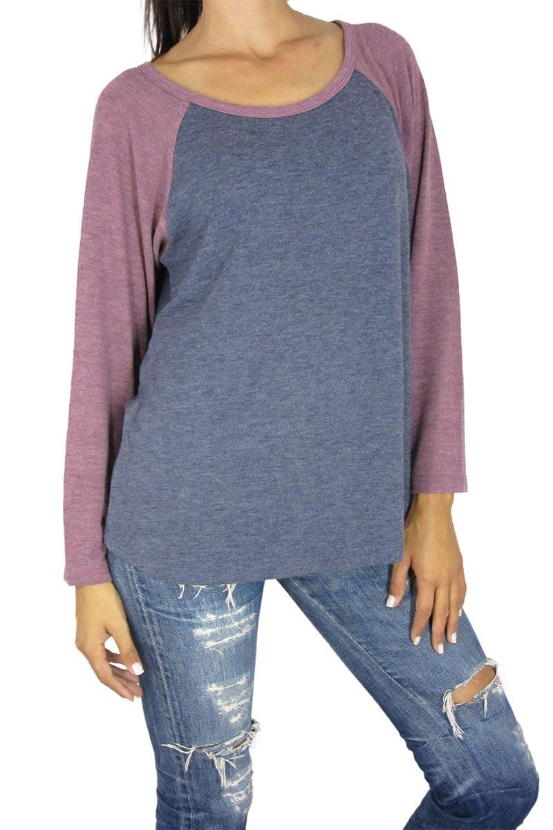 bb9e6f114c57 Obey γυναικεία φούτερ μπλούζα Jamie μπλε μελανζέ - 212110000