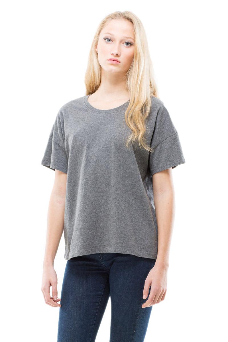Dr Denim γυναικείο t-shirt Elisa γκρι μελανζέ