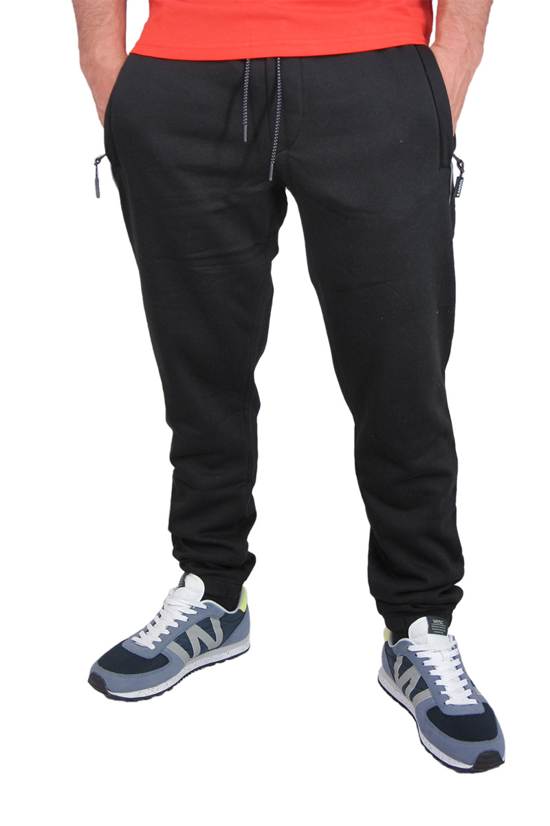 Ανδρική φόρμα παντελόνι σε μαύρο image