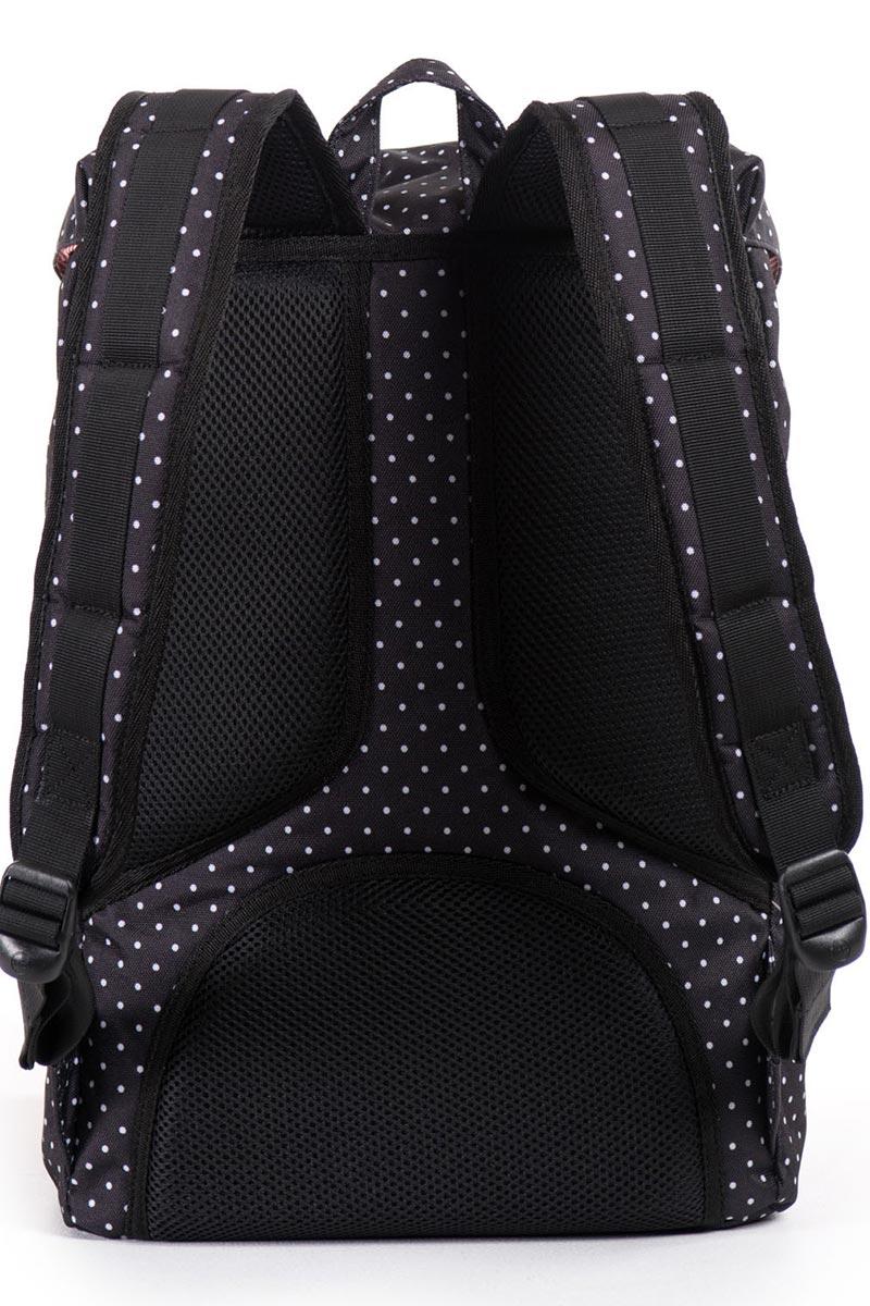 8f205035d627 Herschel Supply Co. Little america mid volume backpack polka dot ...