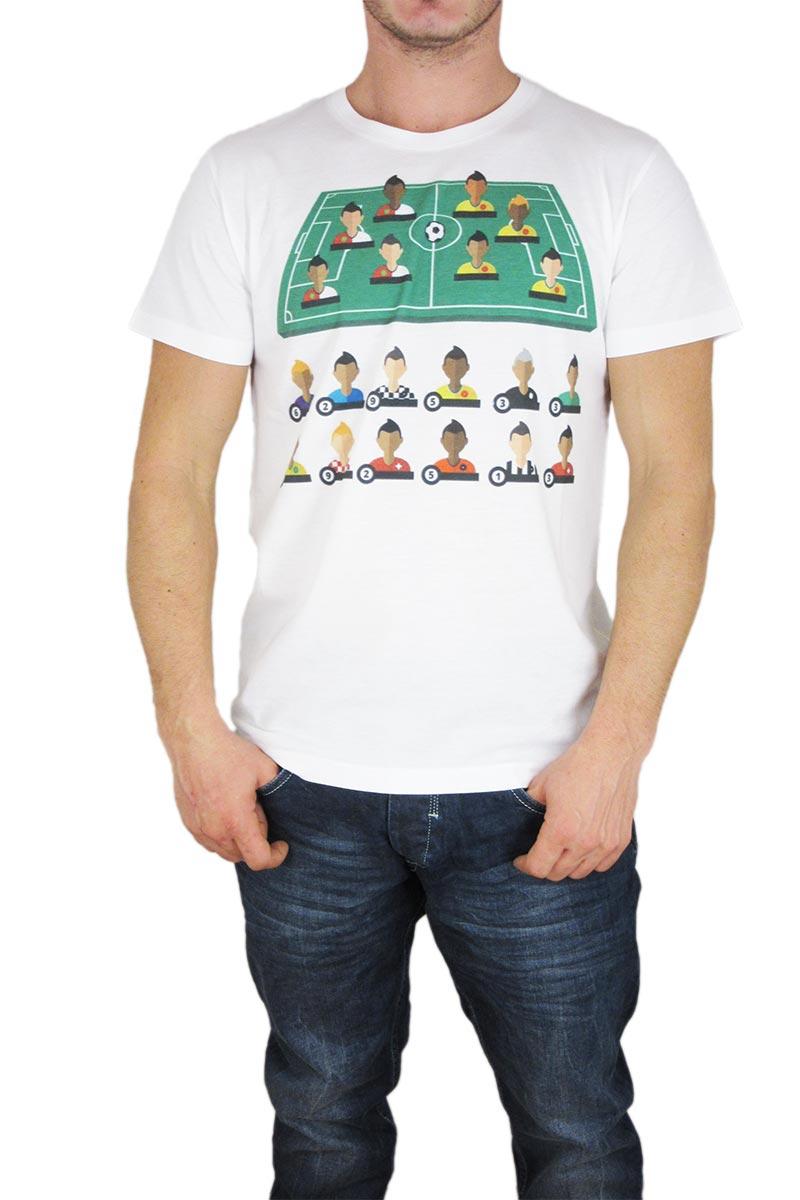 Smartness Lab ανδρικό t-shirt με πριντ - fw147