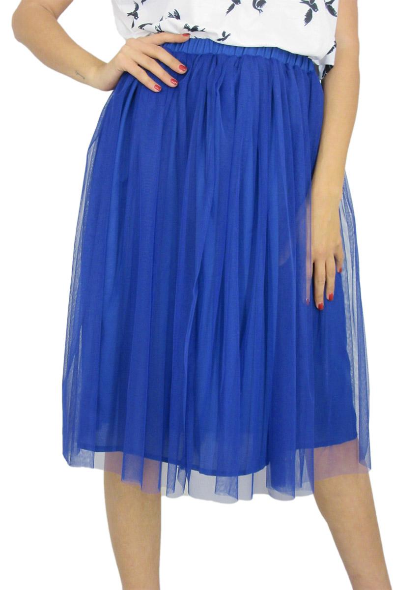 Migle + me μπλε φούστα με τούλι - la-227n